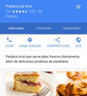 Google Meu negócio Marketing Digital