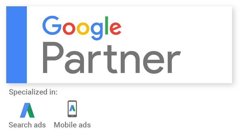Selo Google Partner - Agência Google Partner
